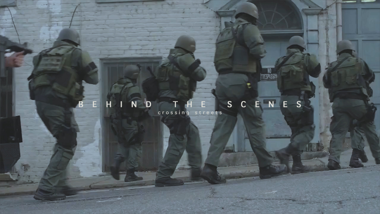 Behind the scenes | CROSSING STREETS